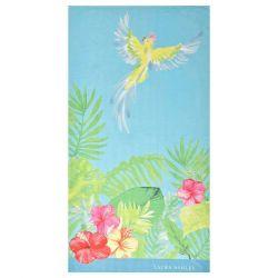 Toalla de playa Tropical Parrot 90x160
