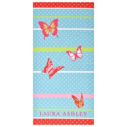 Toalla de playa Lady Butterfly 75x150