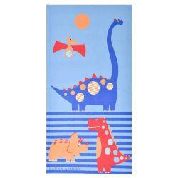 Toalla de playa Dinosaurs 75x150