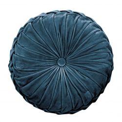 cojín Rosanna azul mar oscuro