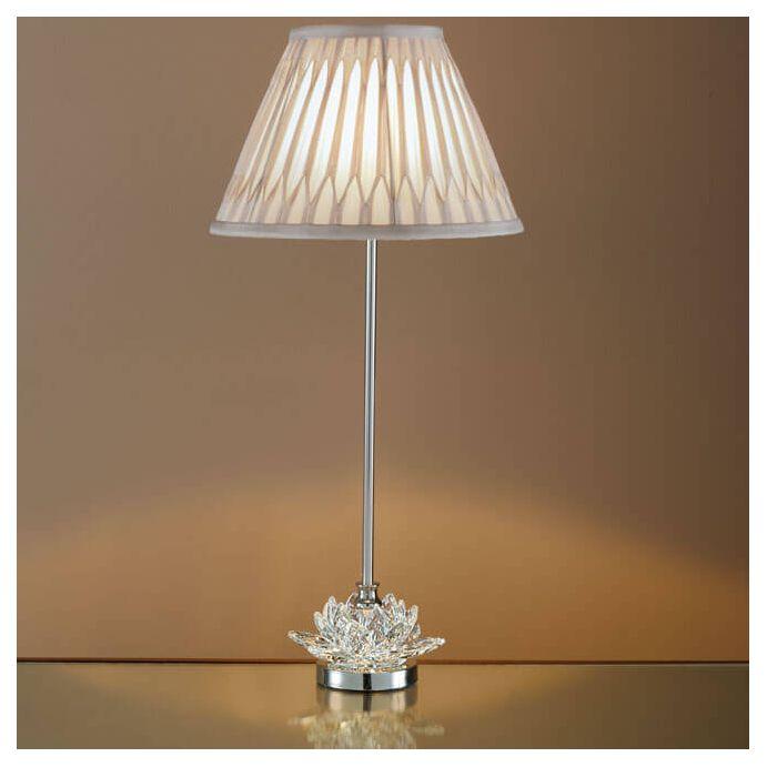 base de lámpara Lotus