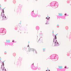tejido Pets rosa