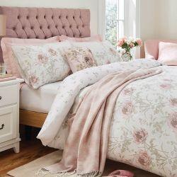 set de cama Aurelie rosa maquillaje