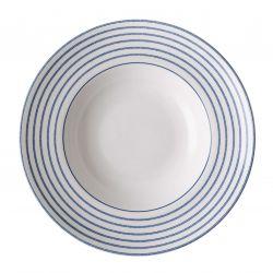 Plato de Pasta Hondo Candy Stripe 27,5 cm