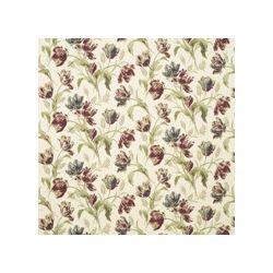 tejido de lino estampado gosford pimentón