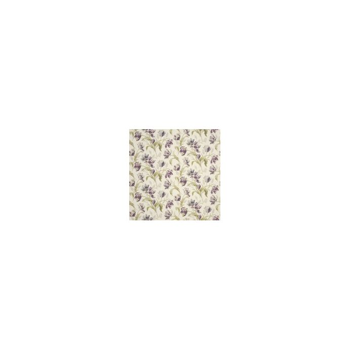 tejido de lino estampado gosford ciruela