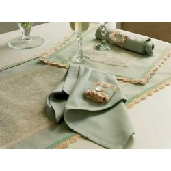 camino de mesa formal lace