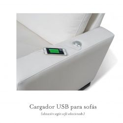 cargador USB para móvil
