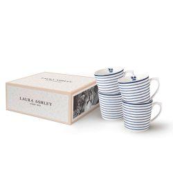4 tazas Candy Stripe 35 cl Blueprint
