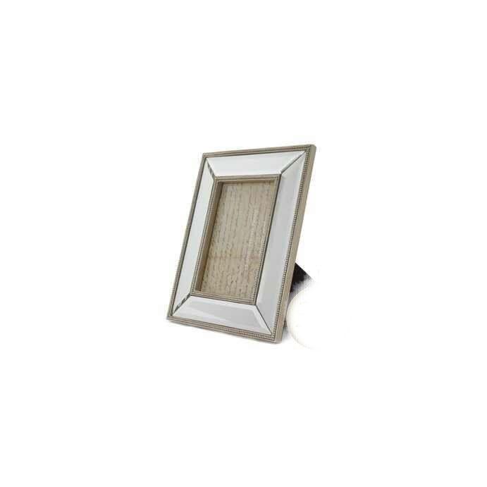marco espejado de resina