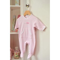 pijama de algodón teddy's best friends rosa