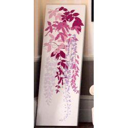lienzo wisteria