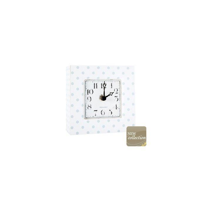 reloj cuadrado de madera