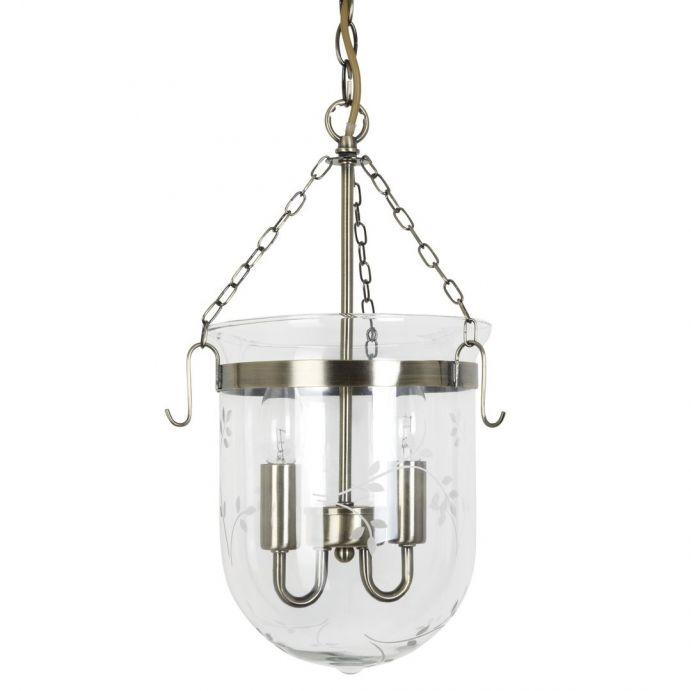 lámpara colgante Berwick bronce