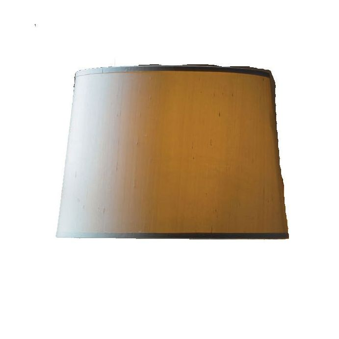 pantalla seda dupion dorado
