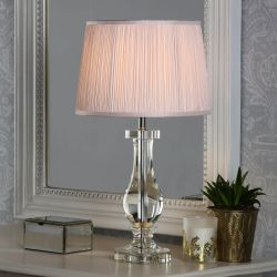Base de lámpara Mya cristal sólido