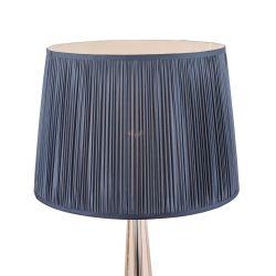 pantalla plisada azul noche para lámparas de diseño