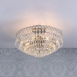 Lámpara de araña cristal Enid