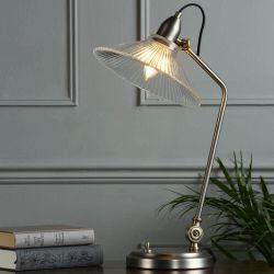 Lámpara de escritorio Hanbury Latón