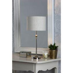 Lámpara de mesa Highgrove Níquel