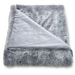 manta  Exmoor gris plata