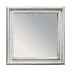 espejo esther cuadrado blanco