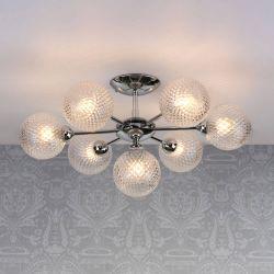 Lámpara de techo Atherton Cromo x7