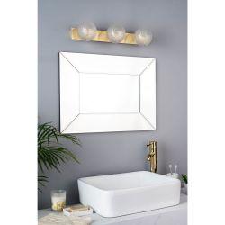 Lámpara de baño de Pared Latón x3