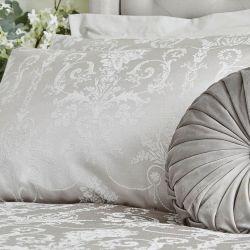 set de cama Josette jacquard plata