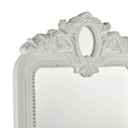 Espejo Alana rectangular marfil 120x79