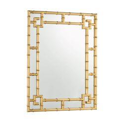 Espejo Shawford rectagular dorado 107x81