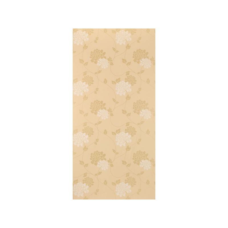Comprar papel pintado isodore dorado de dise o laura for Papel pintado dorado
