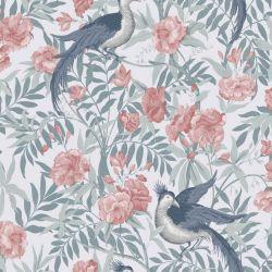 papel pintado Osterley rosa palo