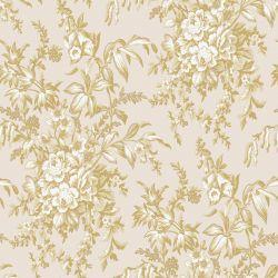 papel pintado Picardie dorado pálido