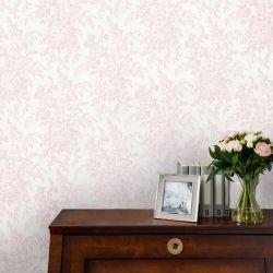 papel pintado Picardie rosa pétalo