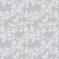 papel pintado Burnham azul mar pálido
