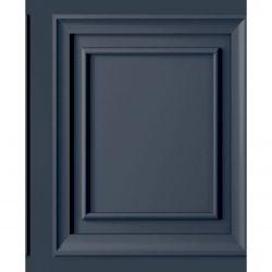papel pintado Redbrook azul marino oscuro
