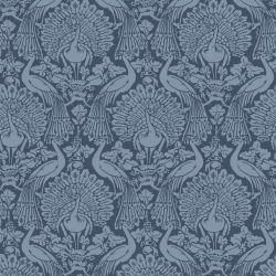 papel pintado Peacock azul mar oscuro