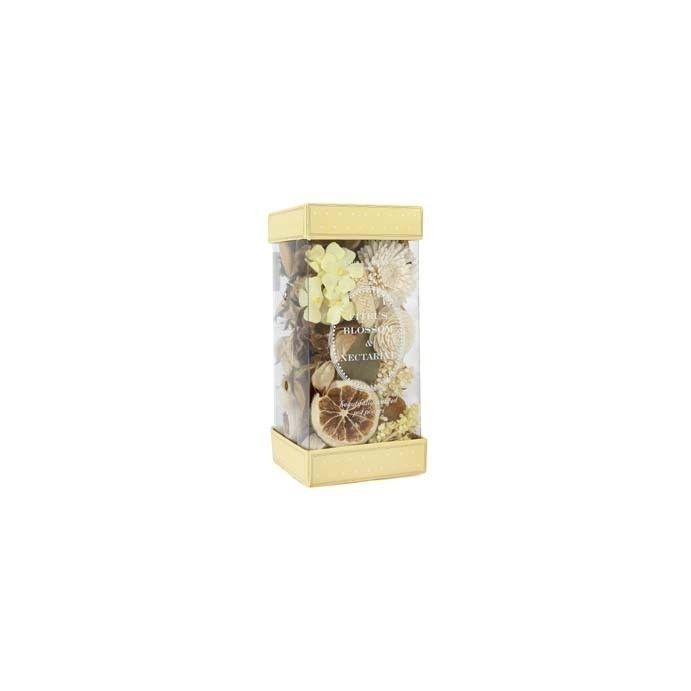 popurrí formato lujo de flores cítricas y nectarin