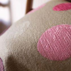 Cojín Veluto Spot rosa
