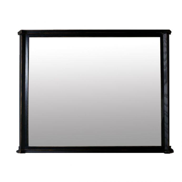 espejo Henshaw negro