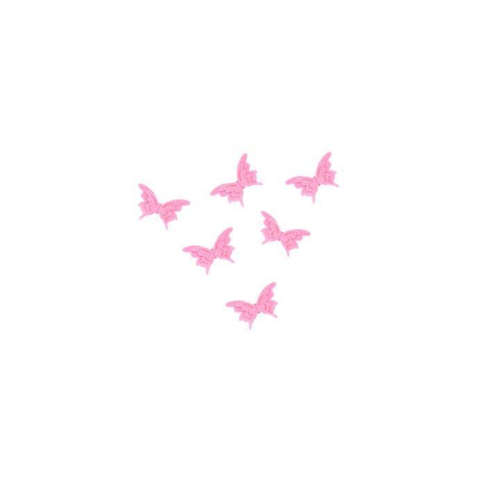 adhesivos de fieltro butterfly