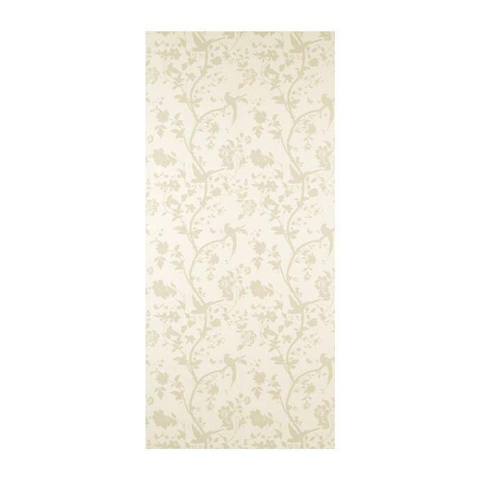 papel pintado oriental garden dorado y hueso
