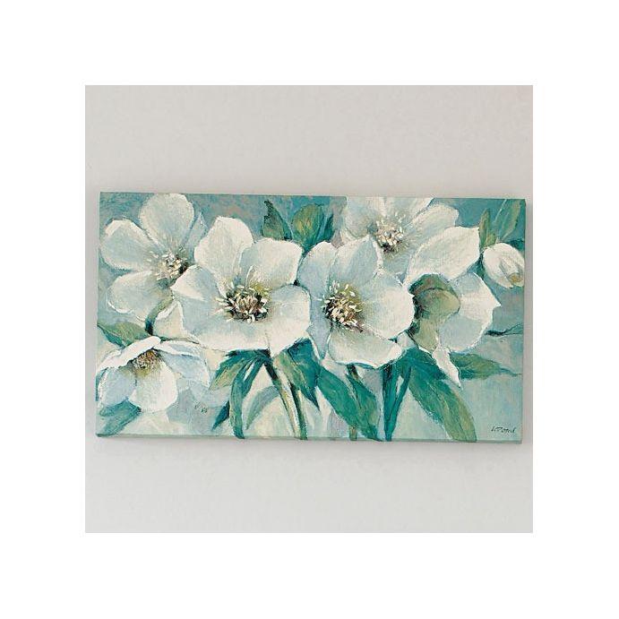 lienzo sonnet de tema floral