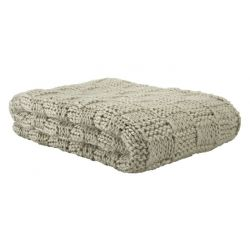 manta tricotado asha lino