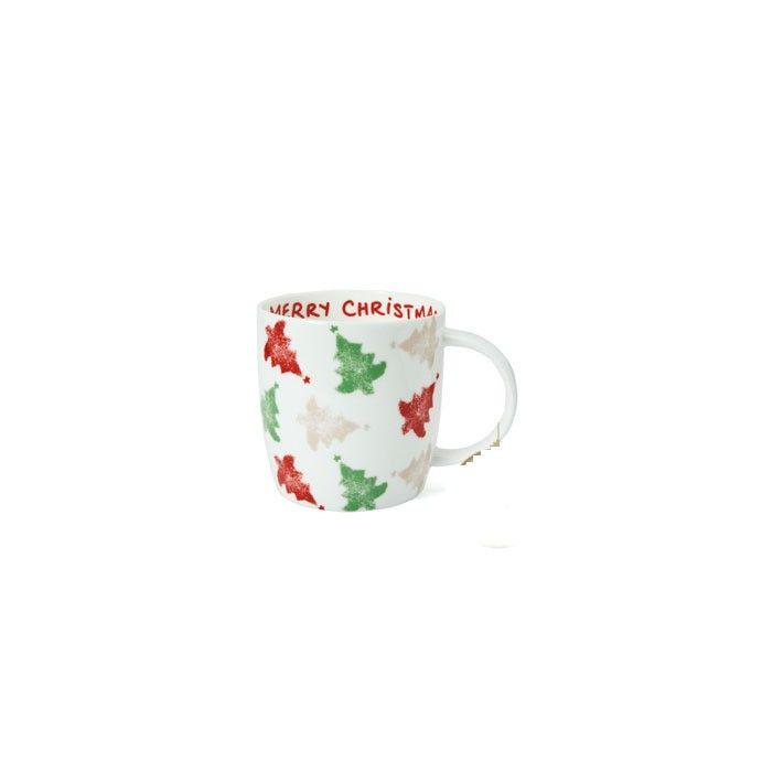 taza de diseño navideño