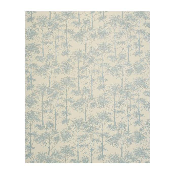 tejido jacquard silver birch azul verdoso