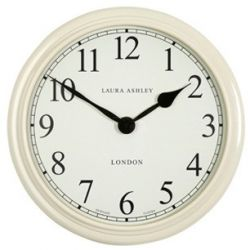 reloj de pared grande crema