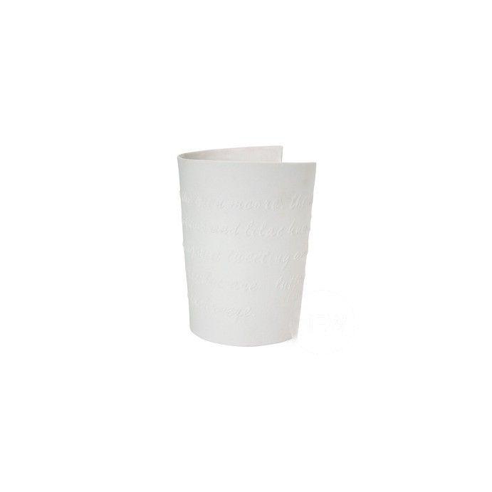 jarrón indulgence en porcelana no vidriada