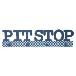 colgador Pit Stop azul